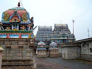 Tiruvaimur Temple, near Tiruvarur, Tirunellikka, Tamil Nadu