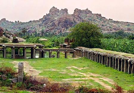 Ruins of Hampi - Vijayanagara, Karnataka