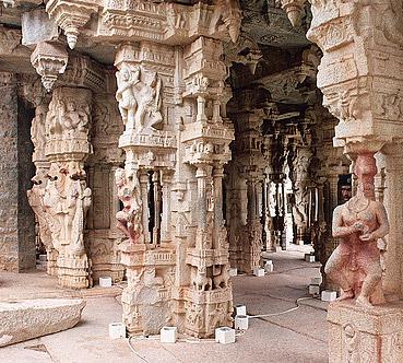 Vitthal Temple Sculpture