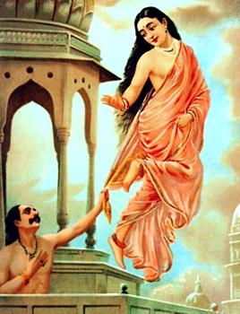 Pururavas and Urvasi