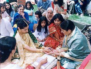 East Indian Weddings, Indian wedding - Assam Wedding Ritual