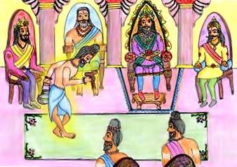 Ashtavakra, a Brahman sage
