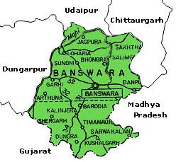 Banswara map