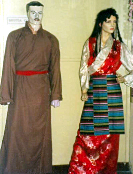 Bhutias Costumes of Sikkim
