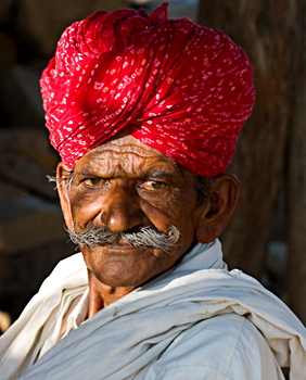Turbans Costume For Rajasthani Men