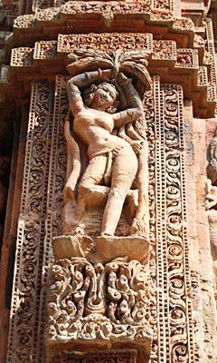 Dance Elements in Temples - Dancing sculpture of Raja Rani Temple of Orissa