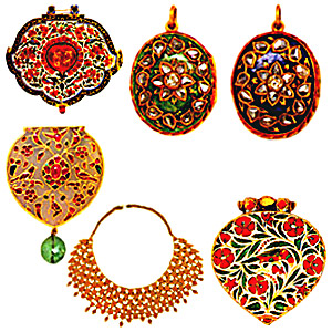 Moghul Jewellery for neck