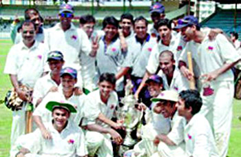 Ranji Trophy, 2002-03, Indian Cricket