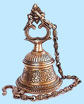 Indian Brass Hanging Bell
