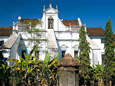 Church and Convent of St. Monica, Goa