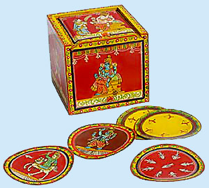 Ganjifa Cards - Sawantwadi Wood Crafts