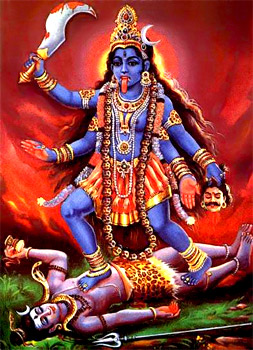 Goddess Kali in Tantrism