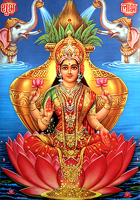 Later history of Goddess Lakshmi