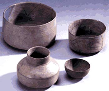 Painted Gray Ware