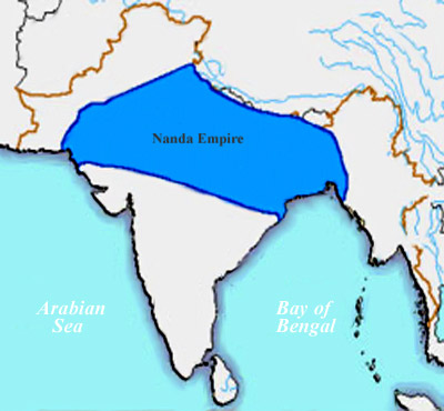 Administration of Nanda Dynasty