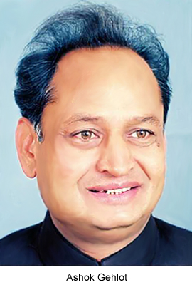 Ashok Gehlot, Chief Minister Of <a href=