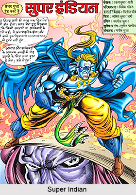 Super Indian, Characters in Indian Comics Series
