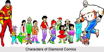 Diamond Comics, Indian Comics Magazine