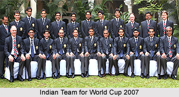 India at the 2007 World Cup