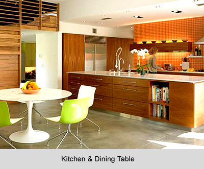 Kitchen and Dining Table, Vastu Shastra