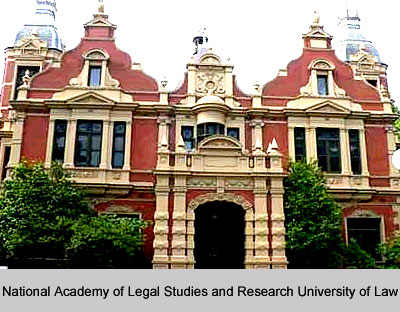 National Academy of Legal Studies and Research University of Law, Hyderabad, Andhra Pradesh