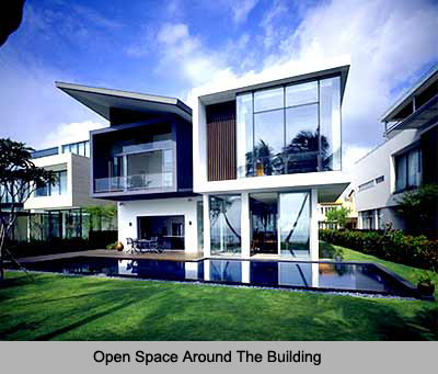 Open Space Around The Building , Vastu Shastra