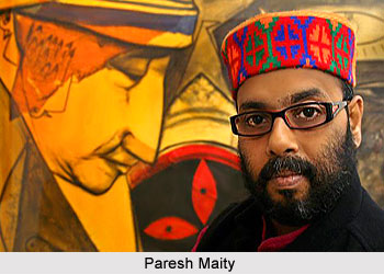 Paresh Maity, Indian Painter