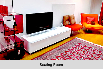 Seating Room in the flat, Vastu Shastra