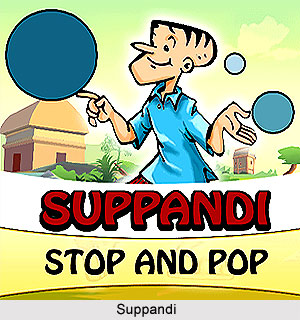 Suppandi, Characters in Indian Comics Series
