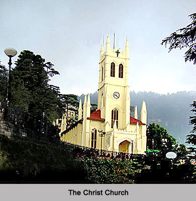 The Christ Church - Colonial Architecture of Shimla