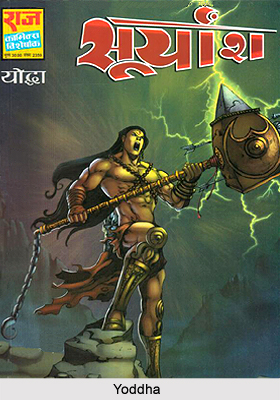 Yoddha, Characters in Indian Comics Series