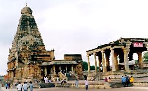 Brahadeeswara Temple  in Thanjavur, Tamil Nadu