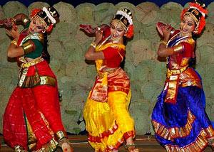 Bharatanatyam dance style of Tamil Nadu