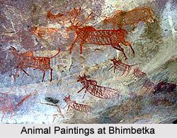 Bhimbetka - Cattle