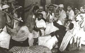 Bijon bhattacharya in debi garjan, calcutta, 1966.jpg