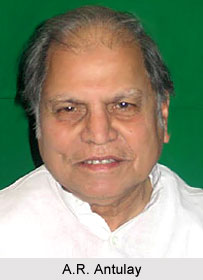A.R. Antulay, Indian Politician