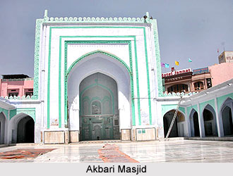Architecture in Ajmer During Akbar, Architecture During Mughal Dynasty