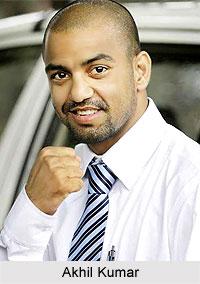 Akhil Kumar, Indian Boxer