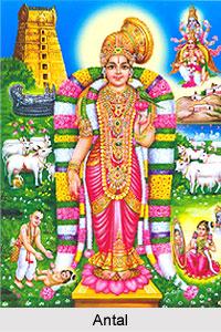 Antal, Tamil Poet