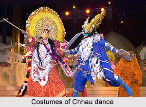 Costumes of Chhau dance