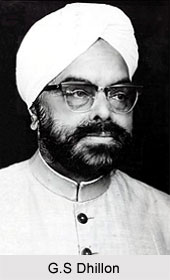 G.S Dhillon, Indian Politician