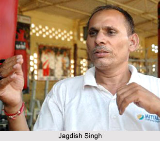 Jagdish Singh, Indian Boxer