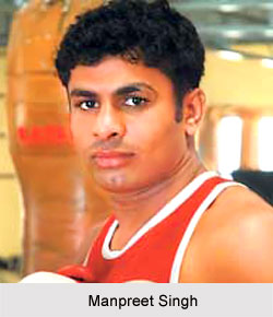 Manpreet Singh, Indian Boxer