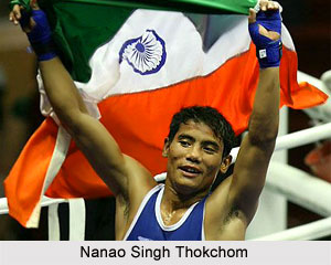 Nanao Singh Thokchom, Indian Boxer