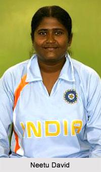 Neetu David, Indian Woman Cricketer