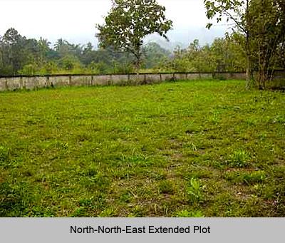 North-North-East Extended Plot, Vastu Shastra