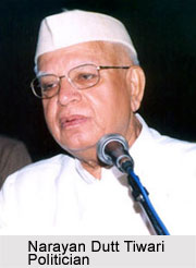 Narayan Dutt Tiwari, Indian Politician