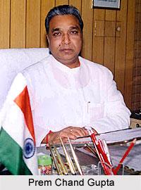 Prem Chand Gupta, Indian Politician