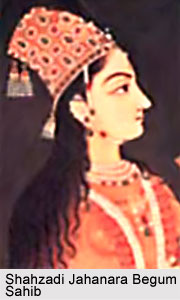 Shahzadi Jahanara Begum Sahib, Mughal Princess