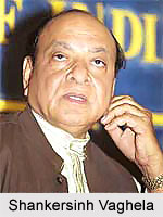 Shankersinh Vaghela, Indian Politician